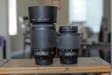 Nikon AFS 18-55mm and 55-200mm  DX lens for Nikon D40,50,60,3000,3200,,5000,5200