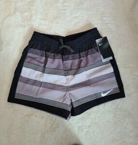 Nike Mens Size Small Water Repel Grey/black Shorts Bnwt
