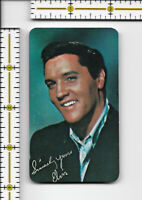 "Elvis Presley 1963 Pocket Wallet Calendar 2 1/4"" x 3 7/8"" produced 1979"