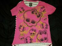 Monster High 6X Top Tunic with stripes on Back - EUC