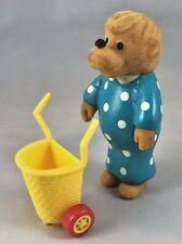 McDonalds Happy Meal Toys 1987 Berenstain Bears, Moma Bear with Shopping Cart