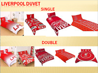 Liverpool FC Single or Double Duvet Cover Quilt Cover Bedroom Set Choose Design