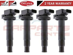 FOR TOYOTA PRIUS YARIS VERSO 99-15 DELPHI IGNITION COIL STICK PACK 90080-19021
