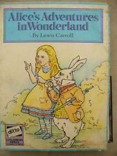 CASSETTE TAPES double ALICE IN WONDERLAND LEWIS CARROLL