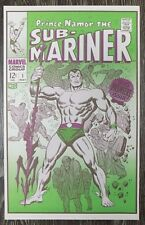 """Foom MarvelMania Poster Prince Namor, The Sub-Mariner Buscema 12"""" by 19"""" 1970 T"""