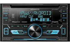 Kenwood Double Din Receiver with Front Auxiliary and USB Inputs DPX302U