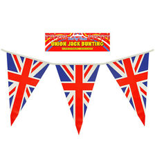 England Union Jack Uk Bunting Flags Great Britain English Decorations Party 25ft