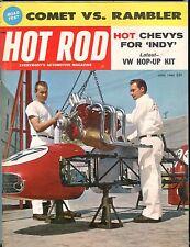 Hot Rod Magazine June 1960 Comet Rambler EX No ML 051417nonjhe