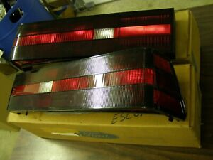 NOS OEM Ford 1983 1984 1985 Escort + Mercury Lynx Tail Light Lamp Lenses Lamps