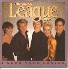"""THE HUMAN LEAGUE - I Need Your Loving (ps)7"""""""