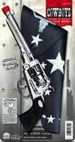 Revolutionary War Cylinder Toy Cap Gun Pistol & Holster Set Replica Theater Prop