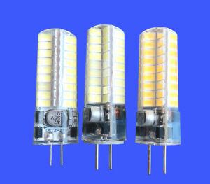 G4/G5.3/GY6.35 Bi-Pin LED bulb 5W 72Led 5730SMD Light DC12~24V Silica gel Lamp