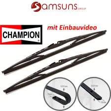 CHAMPION aerovantage limpiaparabrisas Kit 400mm/400mm con 2 ADAPTADORES