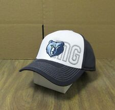 NEW NBA MEMPHIS GRIZZLIES MEN'S EMBROIDERED ADIDAS ADJUSTABLE LOGO  CAP OSFA