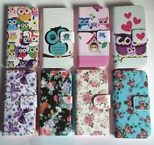 FLIP WALLET LEATHER CASE COVER FOR APPLE iPHONE 4 4S 5 5S 5C 6 6 Plus