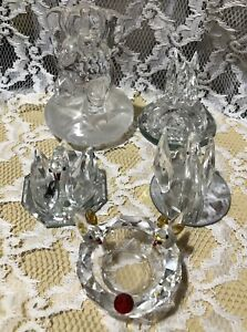 Mixed Bundle of Glass Ornaments & Paperweights
