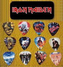 Iron Maiden -- Guitar Pick Tin includes 12 Guitar Picks