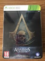 Assassin's Creed 4 Black Flag Skull Edition (Xbox 360) Brand New Sealed PAL