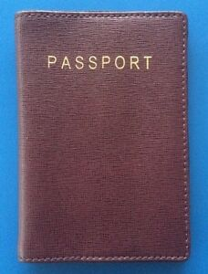 Richards Radcliffe LONDON Passport Cover - New