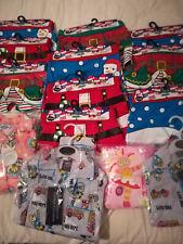 10 Packs Of Boys Xmas Underpants & 4 Pairs infants Pyjamas
