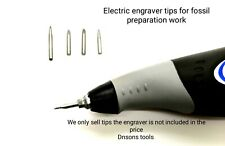 More details for tips for dremel 290 engraver,burgess to prep fossil,engrave stone grade tungsten