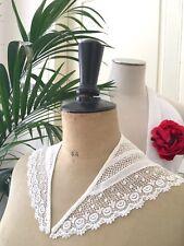 Ancien col en coton Vêtement ancien Costume Théâtre Collection CJB/43