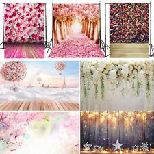 Vinyl Wood Floor Flower Theme Photography Background Photo studio Backdrop Props