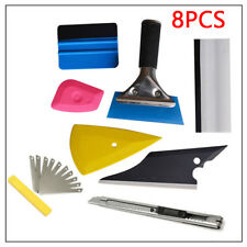 8 PCS Squeegee Car Window Tinting Auto Film Install Wrapping Applicator Kit Trig