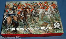 BRITISH HEAVY DRAGOONS 1812-15. WATERLOO 1815 AP053. 1/72 SCALE. 12 FIGURES.