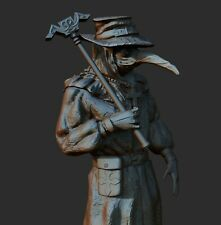 Plague Doctor Custom Resin Model Kit GK Figure Statue 1/16