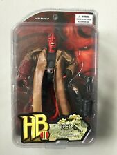 HELLBOY 2 RED Action Figure Trench Coat Ron Pearlman Golden Army Movie MEZCO