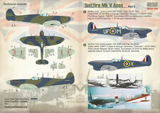 Stampare Scala 1/48 Spitfire Mk. V Aces parte 2 # 48123