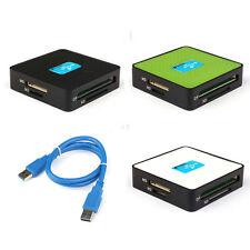 Brand New All-In-1 USB 3.0 CF Compact Flash Micro SD Multi Card Reader Adapter