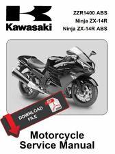 Kawasaki 2012 Ninja ZZR1400 ABS Service Manual