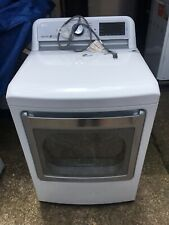 Lg Dlgx7601We 7.3 cu. ft. Gas Dryer with Turbo Steam in White