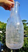 c.1940 OLBRYCH'S DAIRY, Bell Street, Amsterdam NY: Vintage 1QT Milk Bottle