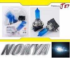 Nokya 7000K White H11B Nok7448 55W Head Light Bulb Low Beam Replacement Lamp Fit