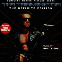 BRAD FIEDEL/OST- TERMINATOR-DEFINITE EDITION  CD  19 TRACKS SOUNDTRACK  NEW+