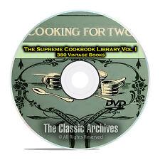 Supreme Vintage Cookbook Library, Vol 1, 380 Books, Cooking, Recipes DVD CD E35