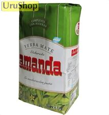 Y83 YERBA MATE AMANDA COMPUESTA/HERBAL 500G WITH STEMS