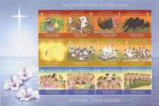 Aitutaki 2011 Twelve Days of Christmas Issue Souvenir Sheet