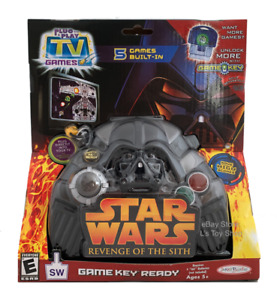 Star Wars Revenge Of The Sith Plug n' Play TV Game 5 Built-In Game Key Toy
