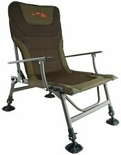Fox NEW Duralite Green Lightweight Fishing Arm Chair - CBC059