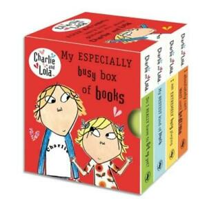 Charlie and Lola: My especially busy box of books by Lauren Child (Board book)