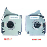 NEW CPU cooling Fan & GPU Fan for Dell INSPIRON P82F G5-5590 063NYM 0FK2HP