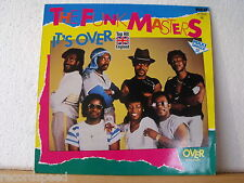 """★★ 12"""" Maxi - THE FUNK MASTERS - It´s Over (7:04 min) RCA 1983 GER"""