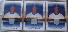 3 Different MARK TEIXEIRA Game Used jersey cards 2004 Flair Diamond Cuts DC-MT