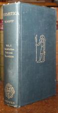 1924 Hermetica Ancient Greek & Latin Writings Hermes Trismegistus Walter Scott