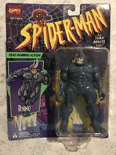 THE AMAZING SPIDERMAN NEW ANIMATED SERIES THE RHINO FIGURE NEW 1994