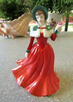 """ROYAL DOULTON  Petite Figurine  """" Winters Day """"   16cm or 6.25 inches  -  Boxed."""